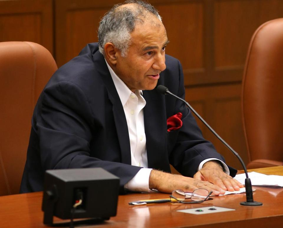 Anwar N. Faisal appeared before the City Council on Wednesday.